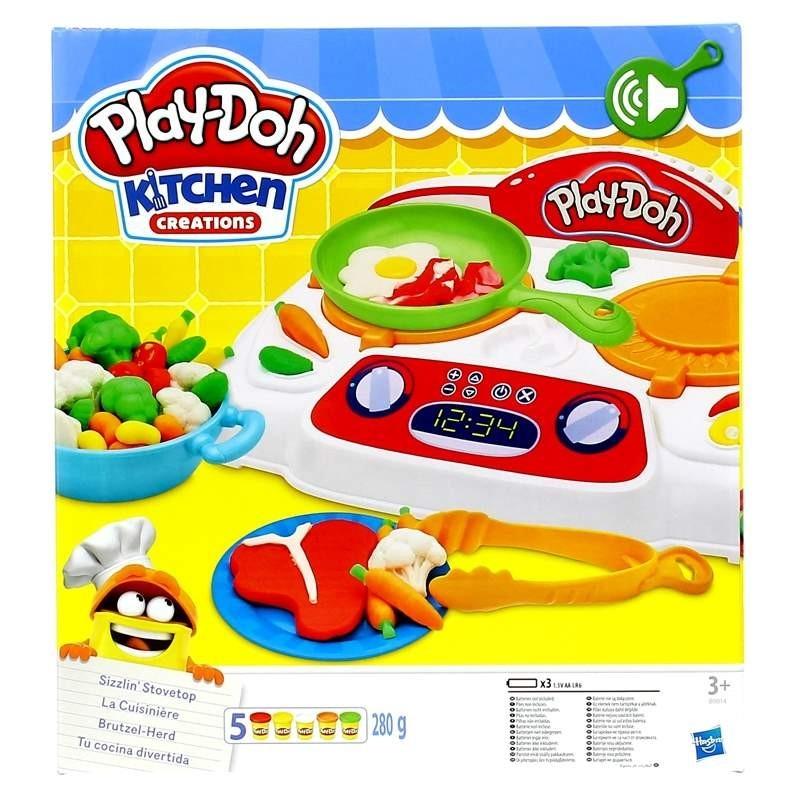 Play doh tu cocina divertida superjuguete montoro - Cocina play doh ...