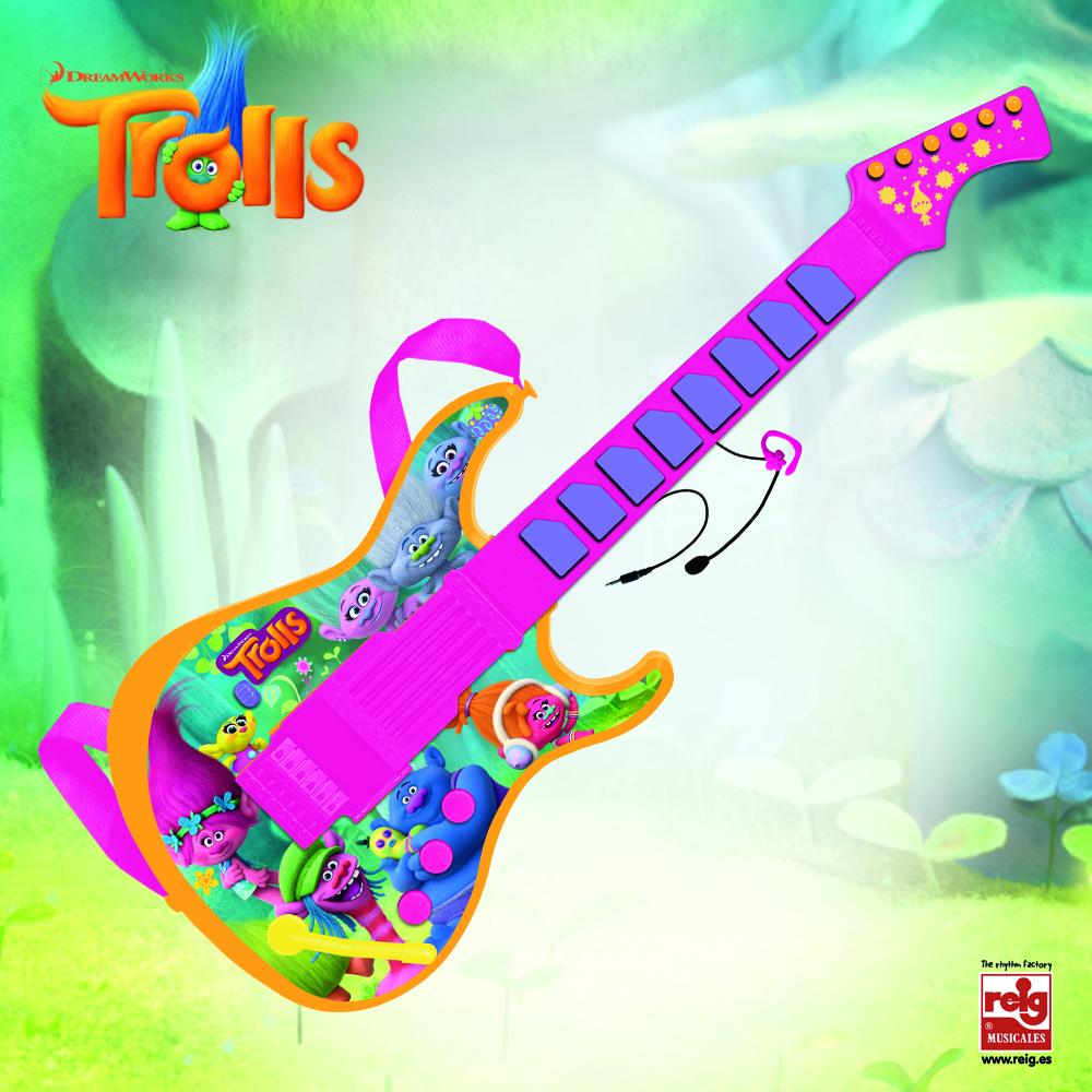 Guitarra Electrónica Dream funciona Trolls