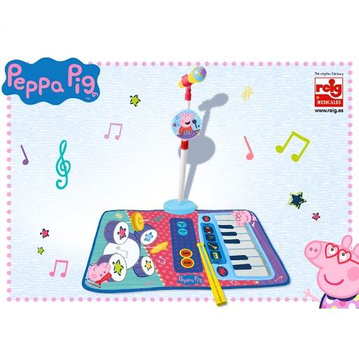 Alfombra 3 en 1 Musical Peppa Pig Superjuguete Montoro